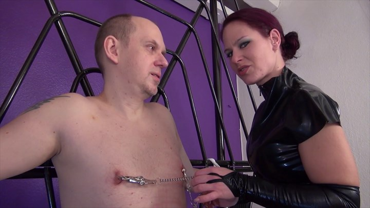 Punished At The Cross Nipple-Play CBT Corporal Punishment