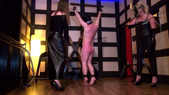 Whipped By 2 ladies Corporal Punishment Whipping