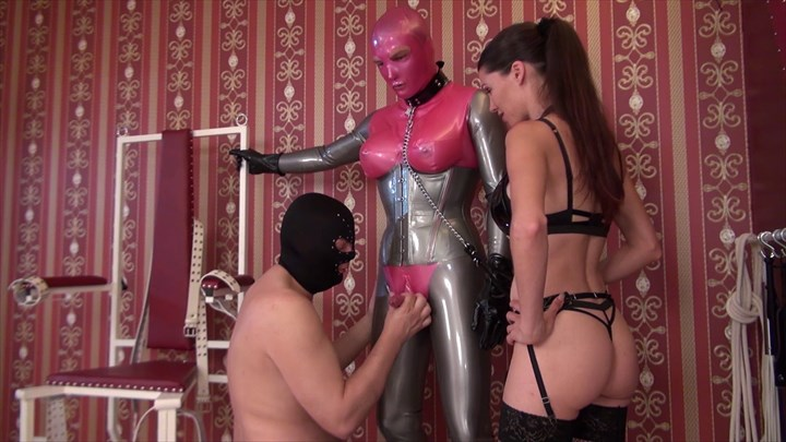 Mistress Susi´s Latex Slut Blowjobs Bi-Sexual Latex