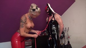 The Kinky Lady From Hamburg Bondage Latex Sissy Sluts