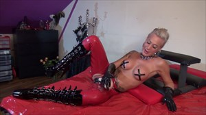 Amira With A Huge Strap-on Strap-on