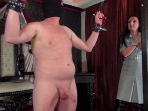 Ballbusting With The East german Officer